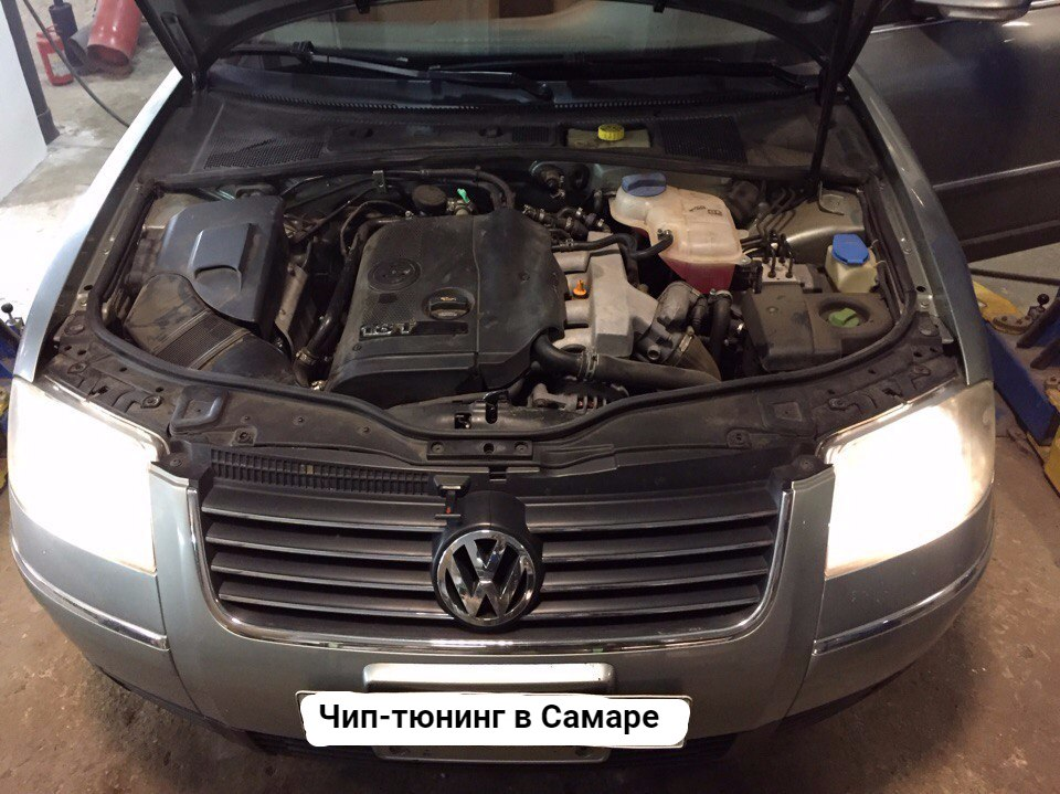 VW Passat B5 AWM 1.8T 2004 AT 170 л.с.